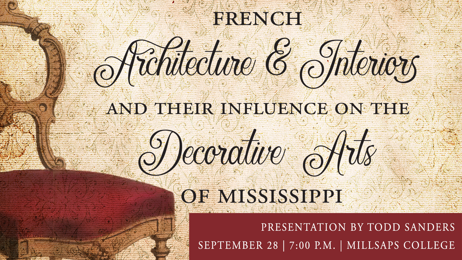 French Architecture & Interiors | Todd Sanders | Alliance Française de Jackson